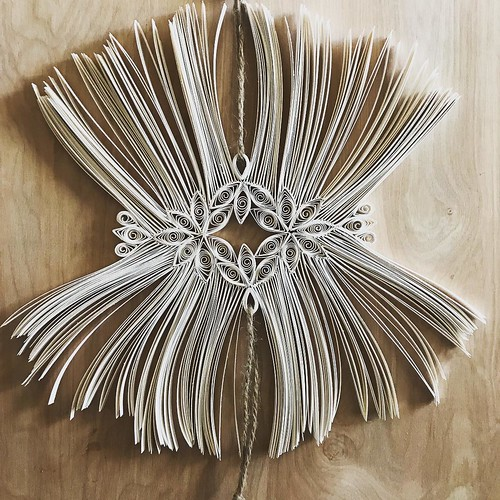 Macrame-Style Quilled Wall Art by Griffin Carrick