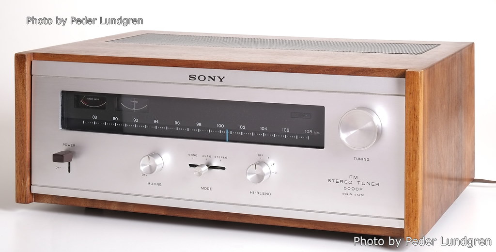 Sony ST-5000F front view