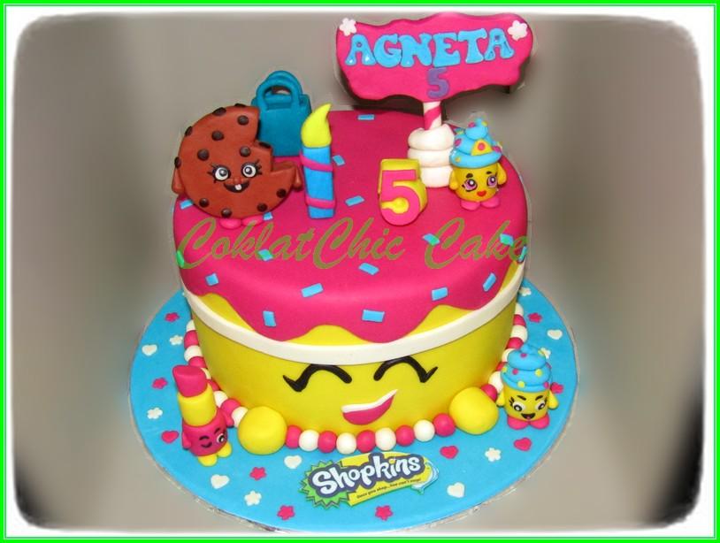 cake Shopkins AGNETA 20cm