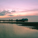 Seaside, sky and sundown