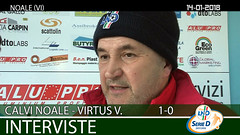 Calvi Noale-Virtus V. del 14-01-18