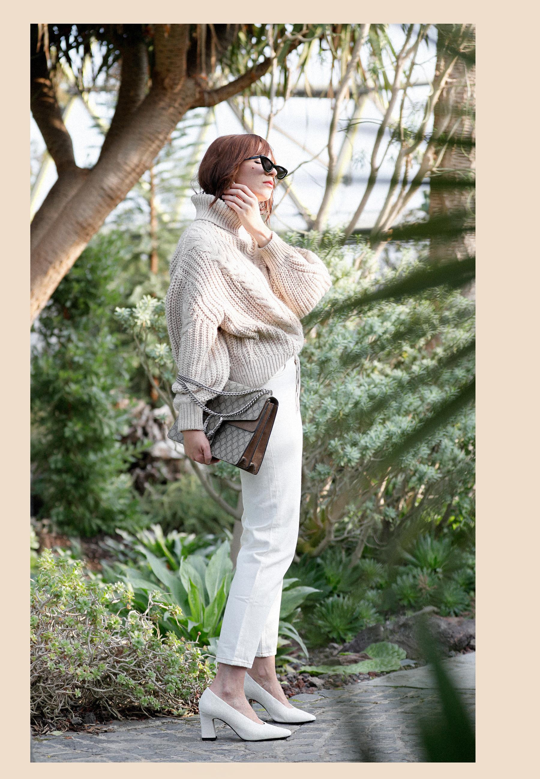 outfit big cable knit white cord pumps mango adam selman x le specs last lolita sunglasses ootd outfitblogger styleblogger modeblogger catsanddogsblog düsseldorf ricarda schernus max bechmann fotografie film 6