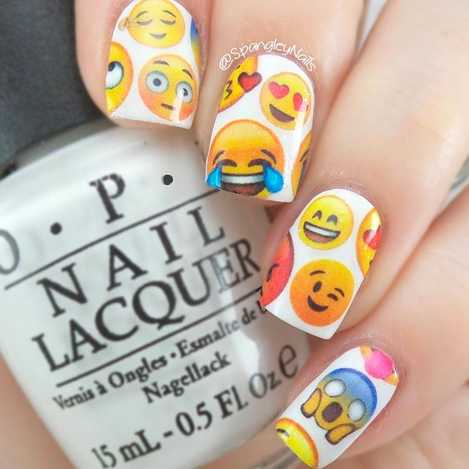 New French In Hip Summer Nail Designs Fashionre