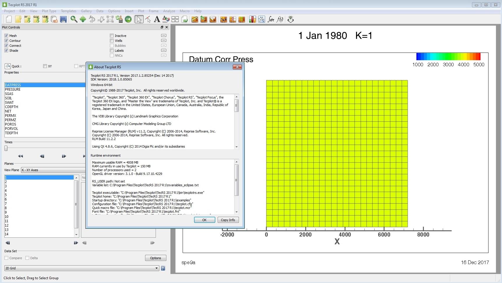 Tecplot RS 2017 R1 m2 Build 2017.1.2.85254 Win-Linux x64 full