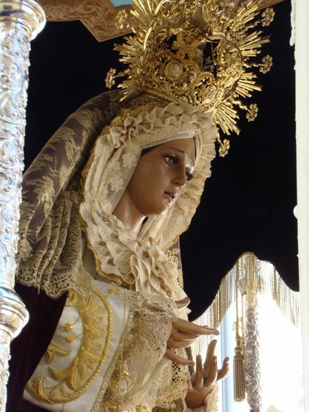 Hermandad de la Inmaculada Concepción de María y Cofradía de Nazarenos de Jesús del Soberano Poder en Las Negaciones de San Pedro y María Santísima de la Humillacion .