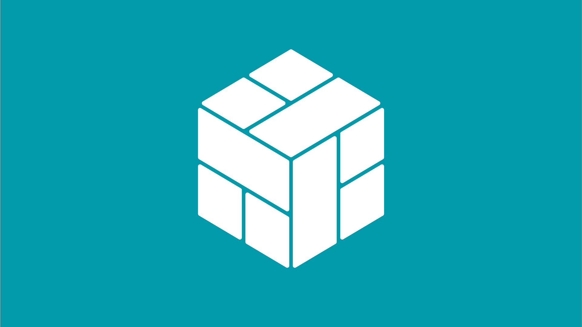 Image of cube within CLT logo