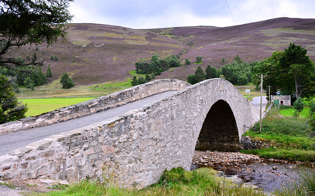 Gairnshiel Bridge, Scottish Highlands