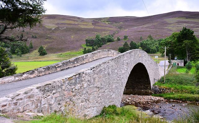 Gairnshiel Bridge, Scottish Highlands