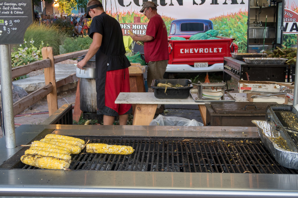 Corn Stand at Iowa State Fair