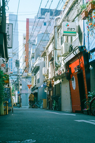 大阪 日本橋 路地 Osaka Nipponbashi
