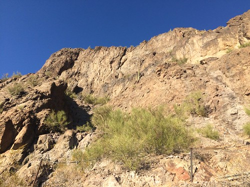 Picacho Peak getting up the South side