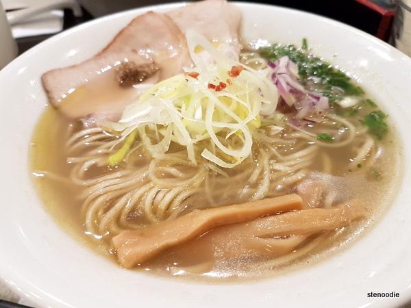 Konjiki Ramen clam soup