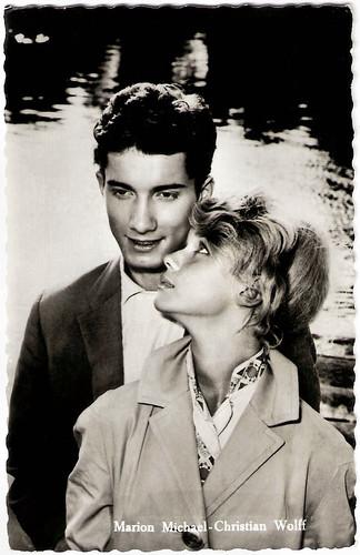 Marion Michael and Christian Wolff in Es war die erste Liebe (1958)