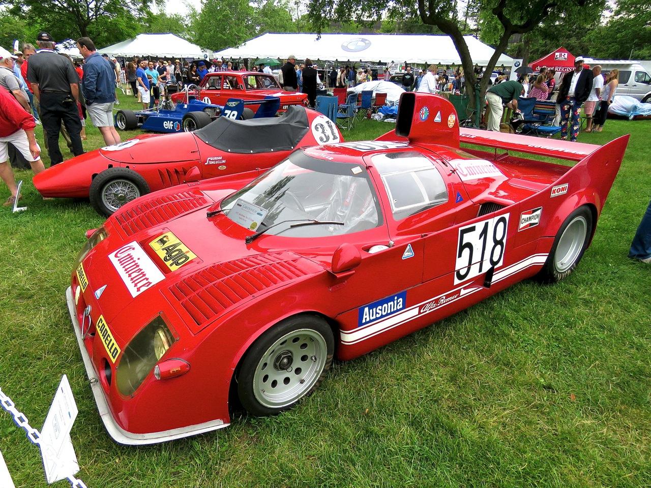 Alfa Romeo Tipo 33 Coupe Nastasi Racing 1