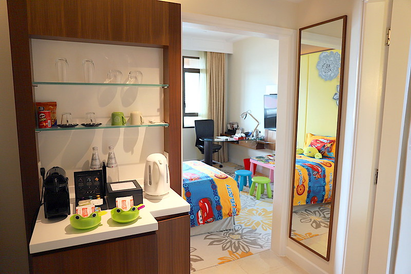 Kids room entrance at Swissotel Merchant Court Singapore