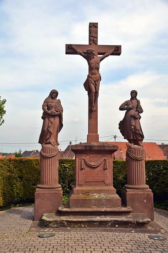 Missionskreuz in Lauterbourg