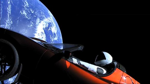 Spaceman and Tesla