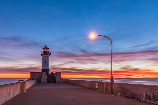 North Pier Light