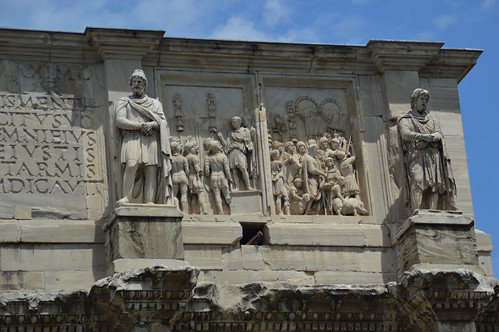 Arch of Constantine Detail 2