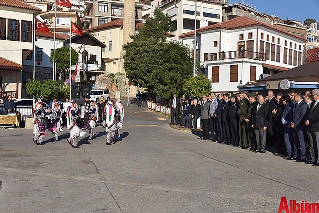 Atatürk'ün Alanya'ya gelişinin 83. yıl dönümü kutlandı-4