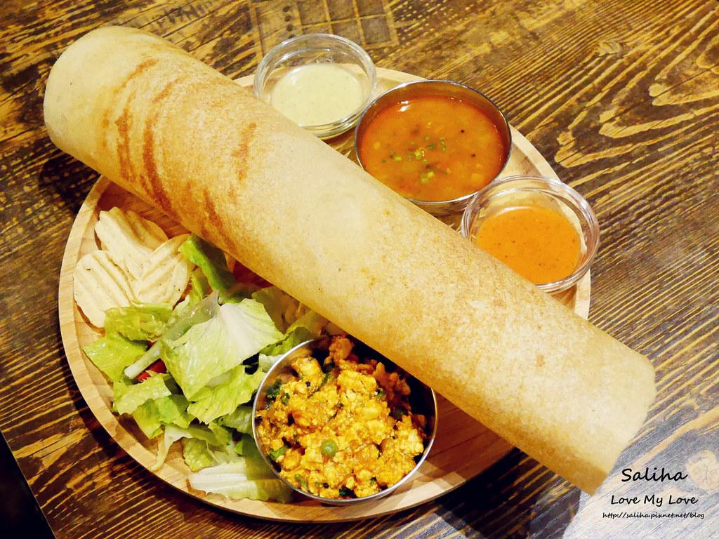 台北中山區長春路素食餐廳推薦3 Idiots Toast Curry 三個傻瓜印度蔬食南京店 (2)
