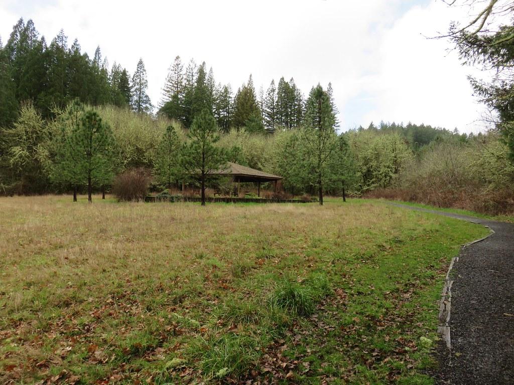 Shelter along the Firefighter Memorial Trail
