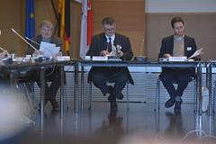 Dr. Dieter Herz, Thomas Bressau und Rainald Manthe