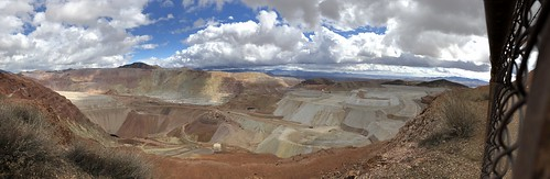 Morenci the mine pano