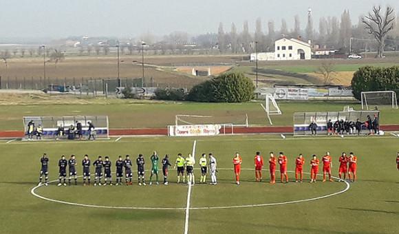 Este - Virtusvecomp Verona 1-1, Rossi rimonta un gol irregolare