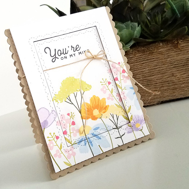 Mixed Bouquet On My Mind Card 2