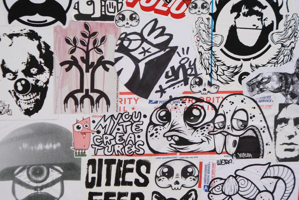 Street Art à Bristol : Vous ne saurez pas où donner de la tête.