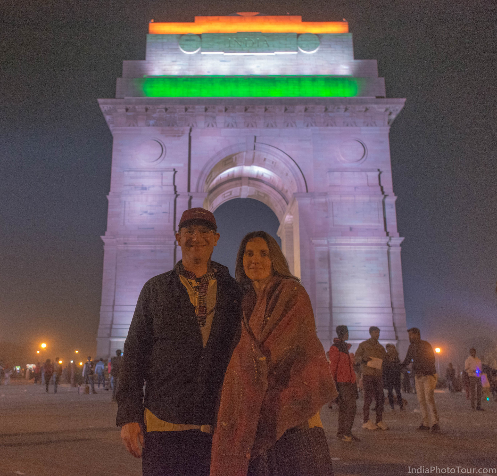 After sunset trip to India Gate