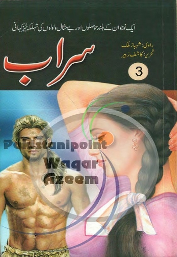 Sarab Part 3  is a very well written complex script novel which depicts normal emotions and behaviour of human like love hate greed power and fear, writen by Kashif Zubair , Kashif Zubair is a very famous and popular specialy among female readers