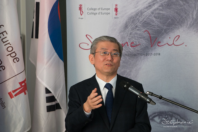 Speech by H.E. Ambassador KIM Hyoung-zhin, Embassy of the Republic of Korea.22 February 2018