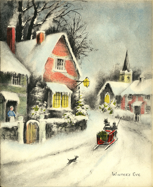 ephemera - Christmas card 1946