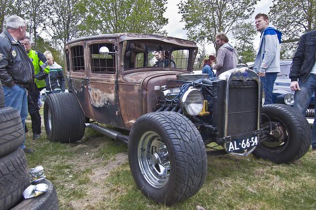 Ford Model A Fordor Sedan Hot Rod 1930 (1960)