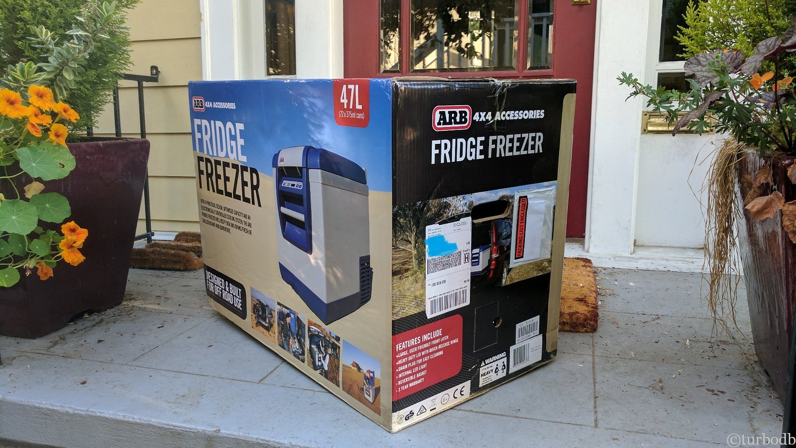 No More Ice Runs or Wet Sandwiches - ARB Fridge