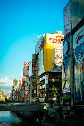 大阪 難波 道頓堀 Osaka Nanba Dotonbori