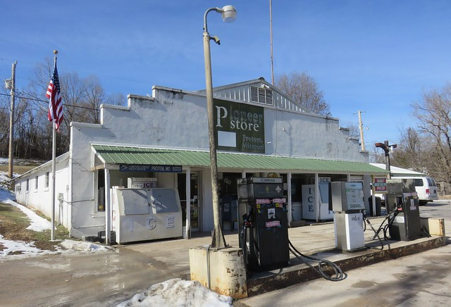 Pioneer Store, Gas Station, and Post Office 65733 (Protem, Missouri)