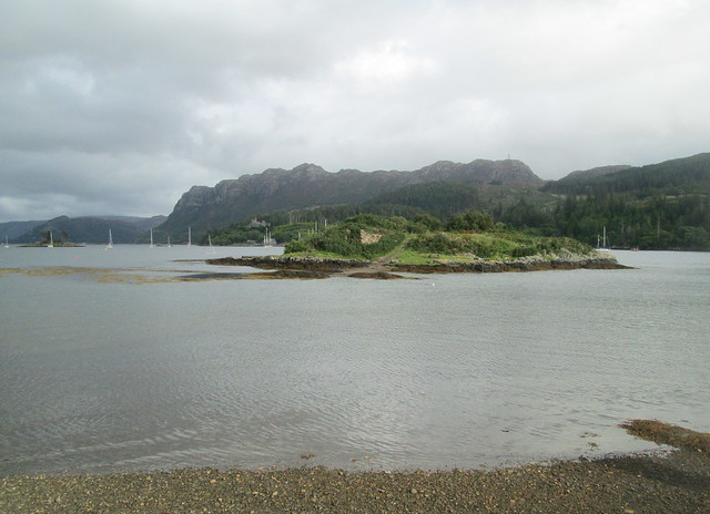 Plockton, looking out to Sgeir Bhuidhe