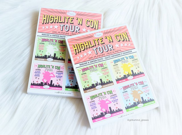 The Balm Cosmetics Highlite 'N Con Tour Palette