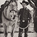 Cowboy Ranch Hand and His Horse