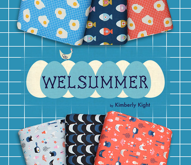 COTTON+STEEL Welsummer Collection by Kim Kight