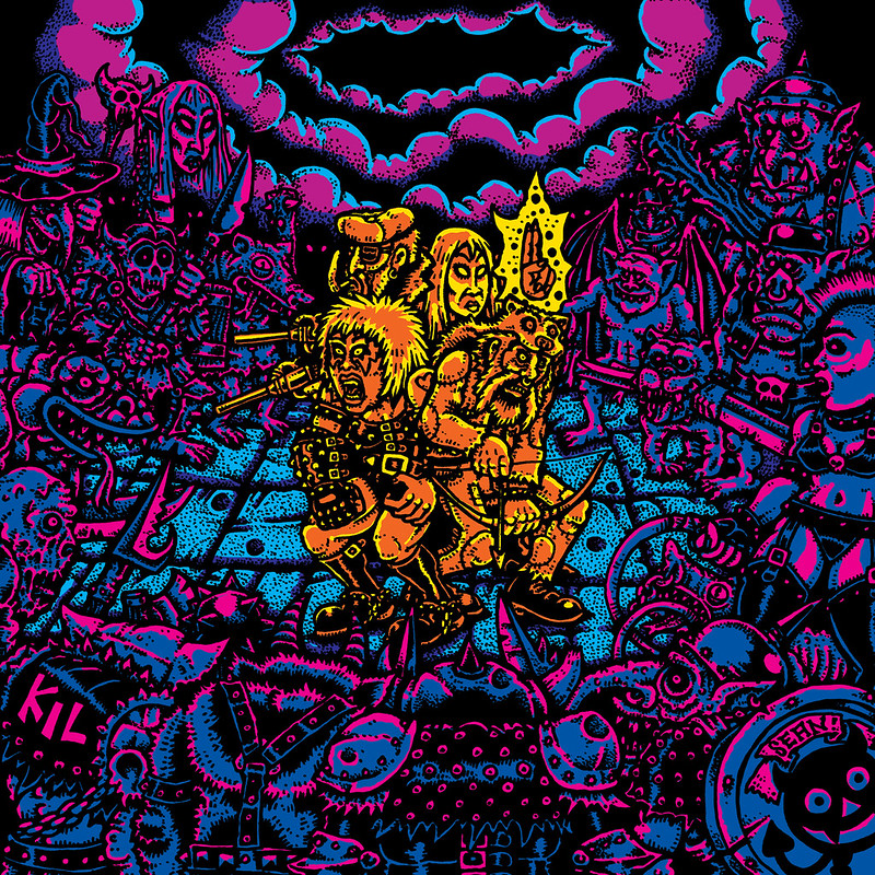 Sean Aaberg - Dungeon Degenerates - COVER ART