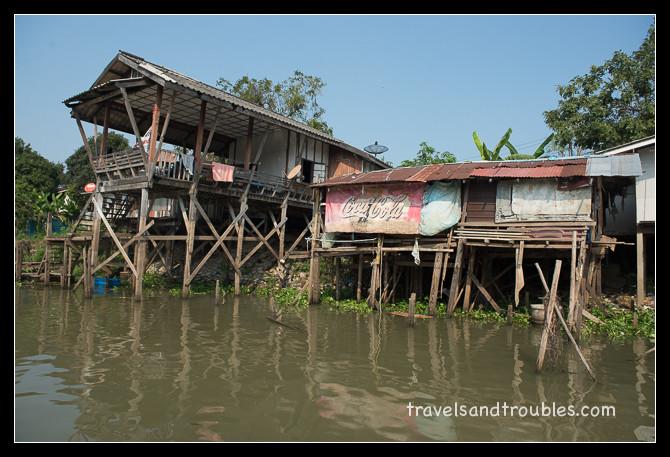 Huizen aan de rivier