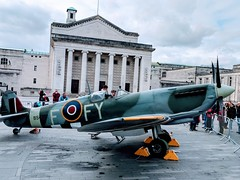Spitfire in Guildhall Square, Southampton