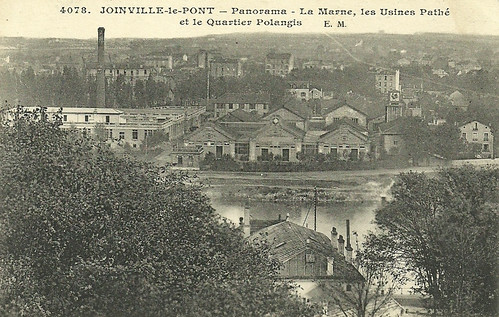Pathé film factories at Joinville-le-Pont