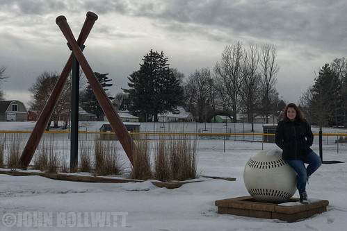 Birthday Girl on a Cold, Iowa Winter Day | by John Bollwitt