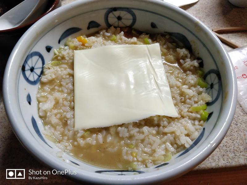 ラーメンチーズ雑炊 (2)