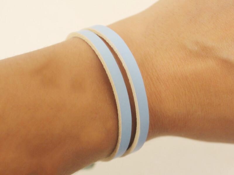 wearing as bracelet 2